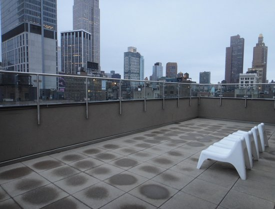 Fairfield Inn & Suites New York Manhattan/Chelsea: Rooftop deck