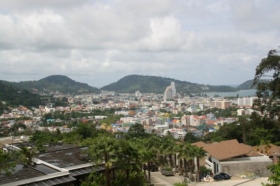 Sea Pearl Villas Resort: awesome view of Patong