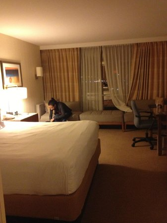 Hyatt Regency Baltimore: our room