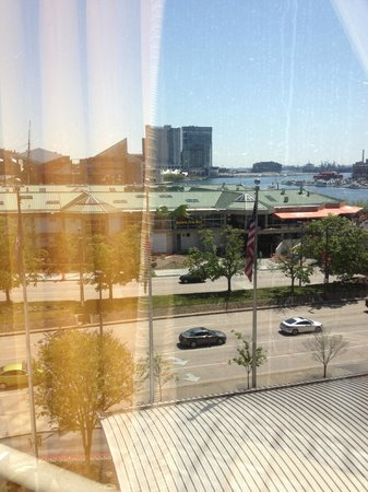 Hyatt Regency Baltimore: view from the room