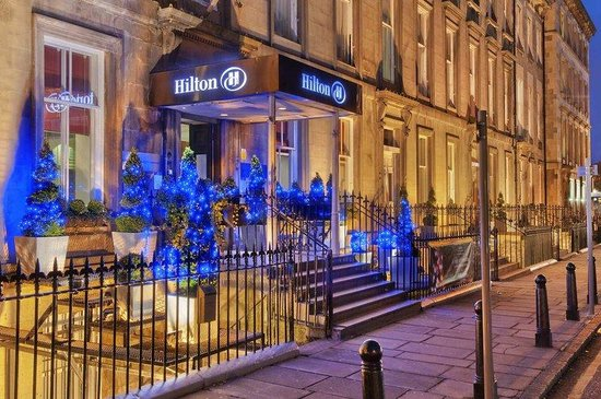 Hilton Edinburgh Grosvenor: Hotel Exterior