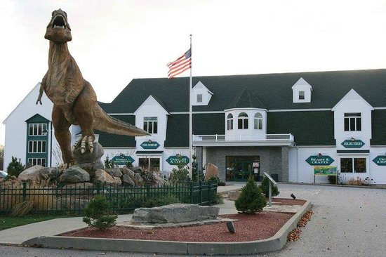 Hampton Inn - Groton: The Dinosaur Place