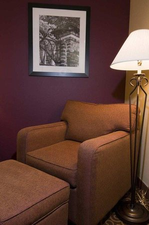 Hampton Inn Butte: Chair and Ottoman