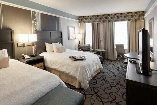‪‪Hampton Inn & Suites Buffalo Downtown‬: Double Queen Room‬