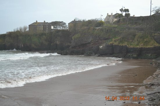 Dunmore East, Irland: The Beach Tide Out