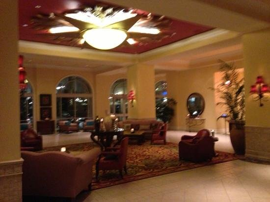 Renaissance Tampa Hotel International Plaza: hotel lobby