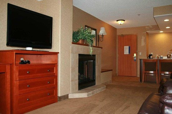 Hampton Inn & Suites Temecula: Fireplace King Suite