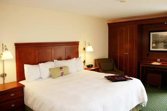 Hampton Inn Princeton: King Standard Room