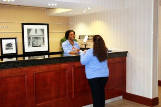 Hampton Inn Princeton: Friendly Hotel Staff