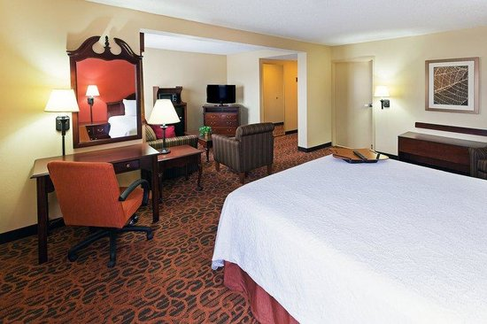 Hampton Inn Jonesboro: King Deluxe Suite