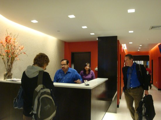 Broadway at Times Square Hotel: Lobby