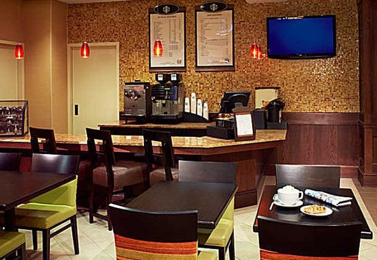 Buffalo Marriott Niagara: Starbucks Station