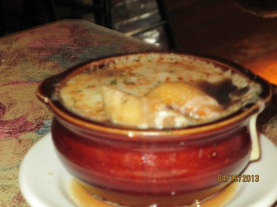 Bristol, NH: French Onion Soup!