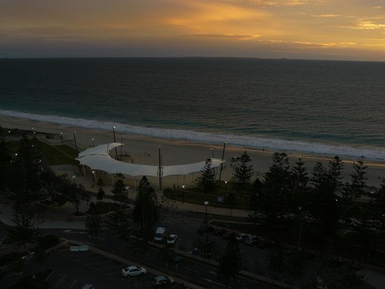Scarborough, Australia: view west from balcony