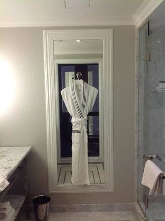 The Surrey: complimentary robe