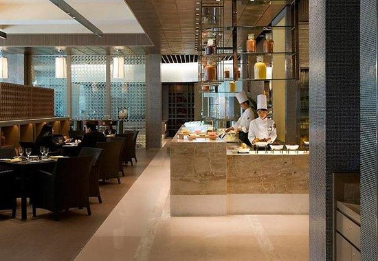 JW Marriott Hotel Beijing: Asia Bistro Open Kitchen