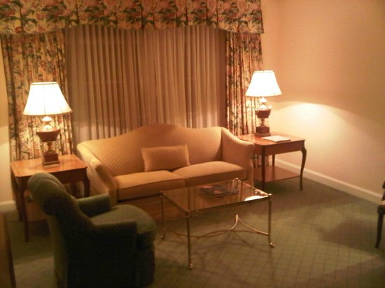 Four Seasons Hotel Dublin: seating area of junior suite 139