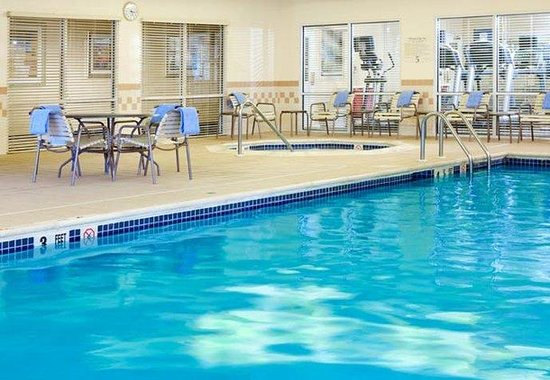 ‪‪Residence Inn Poughkeepsie‬: Indoor Pool‬