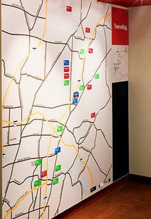 TownePlace Suites Cincinnati Northeast: TowneMap