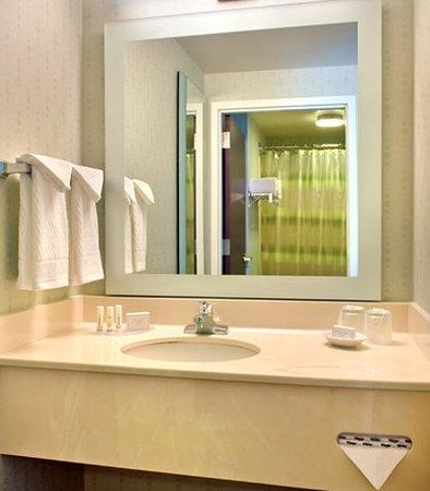 SpringHill Suites Boston Andover: Guest Bathroom Vanity