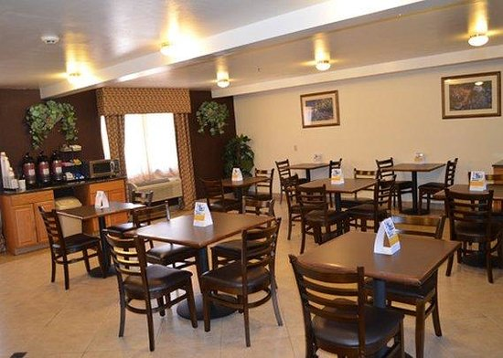 Comfort Inn Silver City: breakfast area