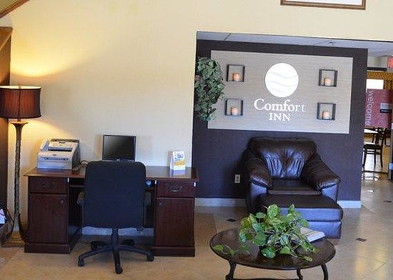 Comfort Inn Silver City: business center