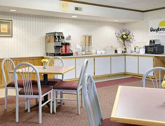 Days Inn New Market, Battlefield: Breakfast Area