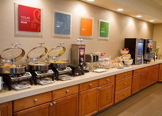 Comfort Suites Mattoon: breakfast area