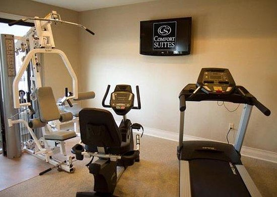 Comfort Suites Mattoon: fitness center