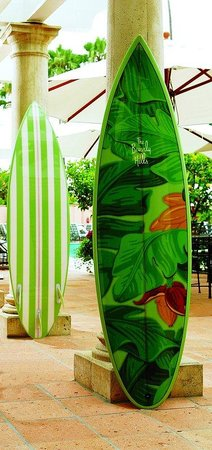 The Beverly Hills Hotel: BHHSurfboard