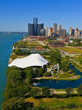‪‪Utica‬, ميتشجان: Detroit Riverfront‬
