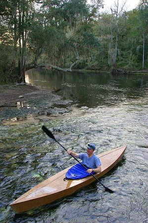 Holiday Inn Gainesville University Center: Kayaking the Santa Fe River