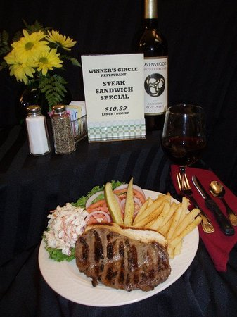 Holiday Inn Louisville East - Hurstbourne: Try our delicious Steaks