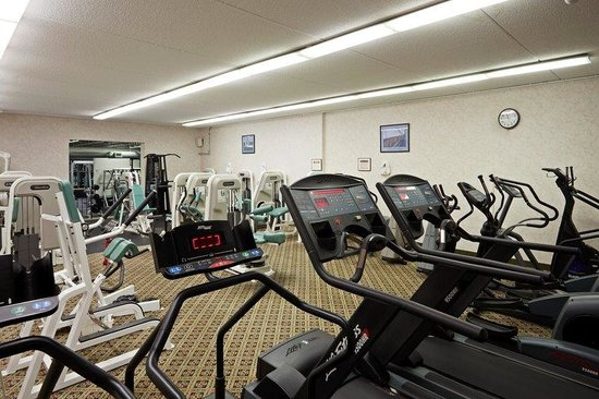Holiday Inn Mansfield-Foxboro Area: All new equipment by LifeFitness