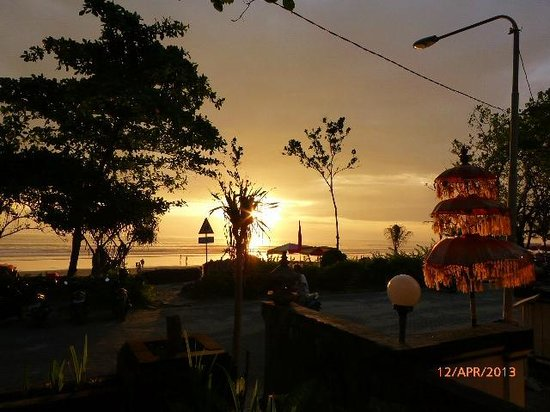 Padma Resort Bali at Legian: sunset over Legian