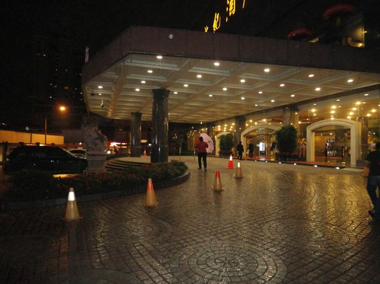 New Century Hotel: Hotel entrance