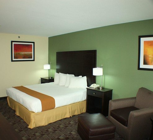 Holiday Inn Express Solana Beach/Del Mar: Holiday Inn Express Solana Beach Single Bed Guest Room