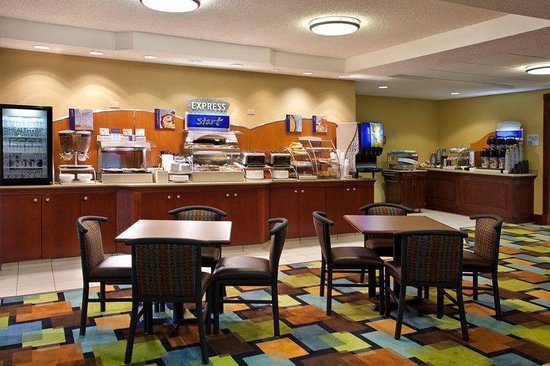 Holiday Inn Express Grove City-Prime Outlet Mall: Express Start Breakfast Bar