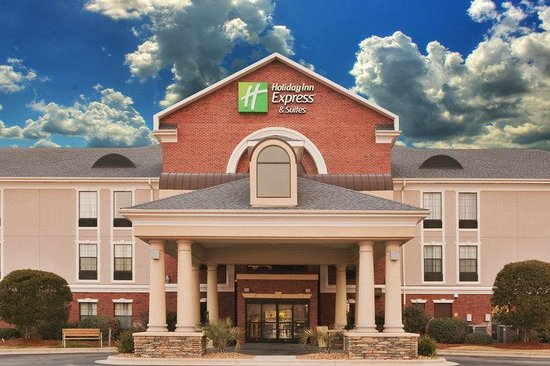 Holiday Inn Express Morehead City: Hotel Entrance