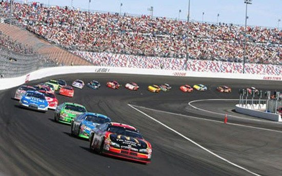 Holiday Inn Express Las Vegas Nellis: Watch NASCAR at the Las Vegas Motor Speedway