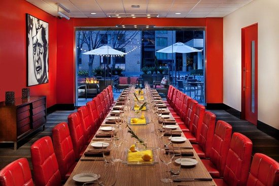 The Liaison Capitol Hill, An Affinia Hotel: Private Dinning F