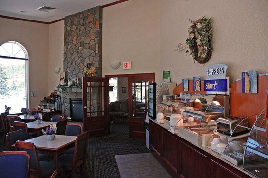 Holiday Inn Express Hotel & Suites Hill City: Breakfast Area