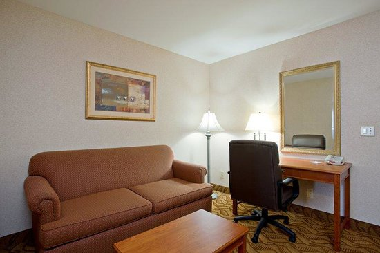 Holiday Inn Express Hotel &amp; Suites Pasadena-Colorado Blvd.: Pasadena Hotel  King Suite