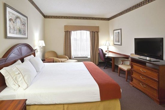 Holiday Inn Express Toledo-Oregon: King Bed Guest Room