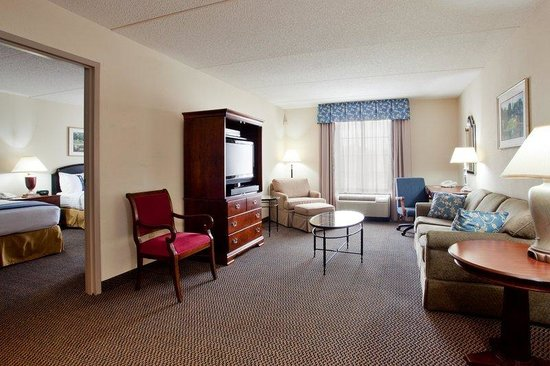 Holiday Inn Newport News: Enjoy our suite with two double beds.