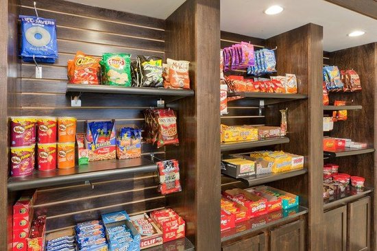 Holiday Inn Express &amp; Suites - York: Need a pick me up?  Enjoy a snack from our Smart Mart!