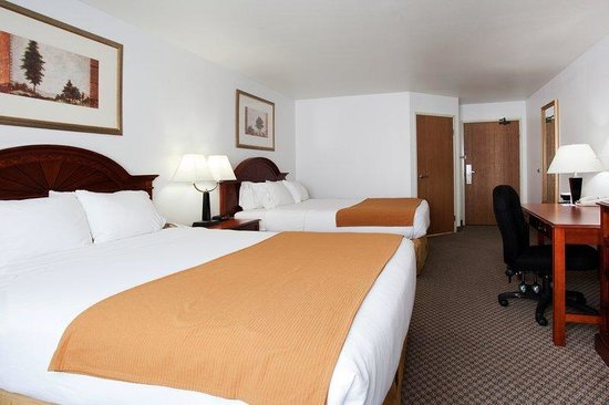 Holiday Inn Express Eagle: Double Bed Guest Room