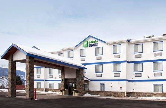 Holiday Inn Express Eagle: Hotel Exterior