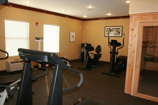 Spring Lake, NC: Fitness Center with Dry Sauna