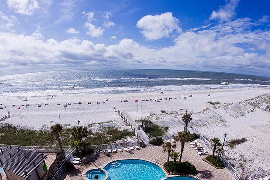 Holiday Inn Express Orange Beach-On The Beach: Gulf View